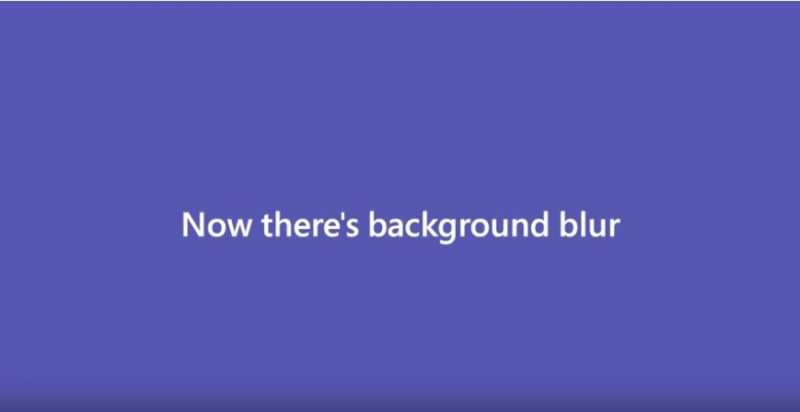 The Modern Workplace: Introducing background blur in Microsoft Teams