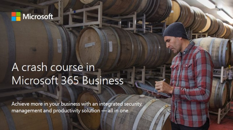 A crash course in Microsoft 365 Business