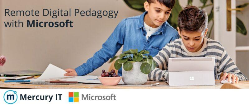 Remote Digital Pedagogy with Microsoft