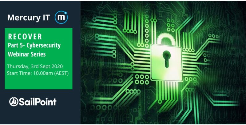 Business Cybersecurity Risk Webinar Series-Part 5- RECOVER