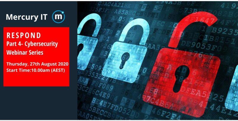 Business Cybersecurity Risk Webinar Series-Part 4- RESPOND