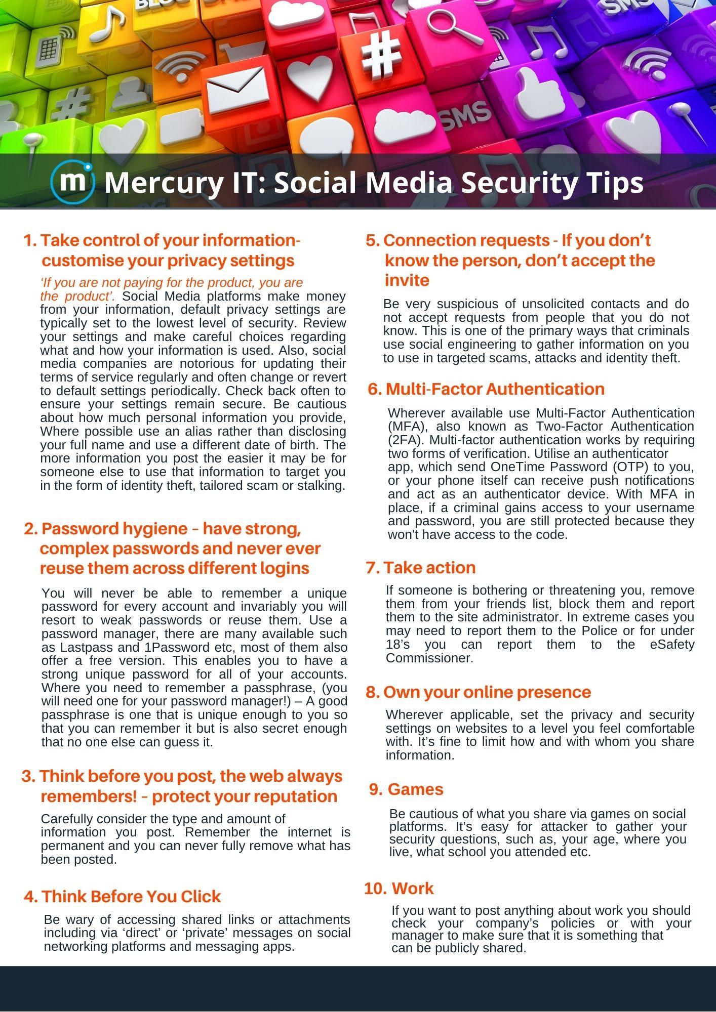 Social Media Flyer Website Only