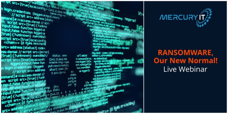 Ransomware, Our New Normal  | Webinar